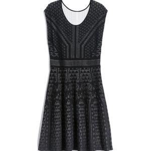 Brayden Pointelle Sweater Dress